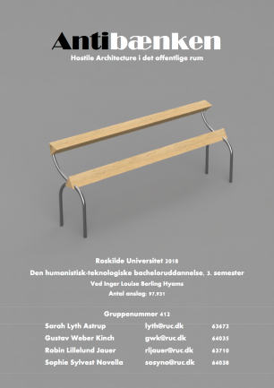 Antibænken – Hostile Architecture
