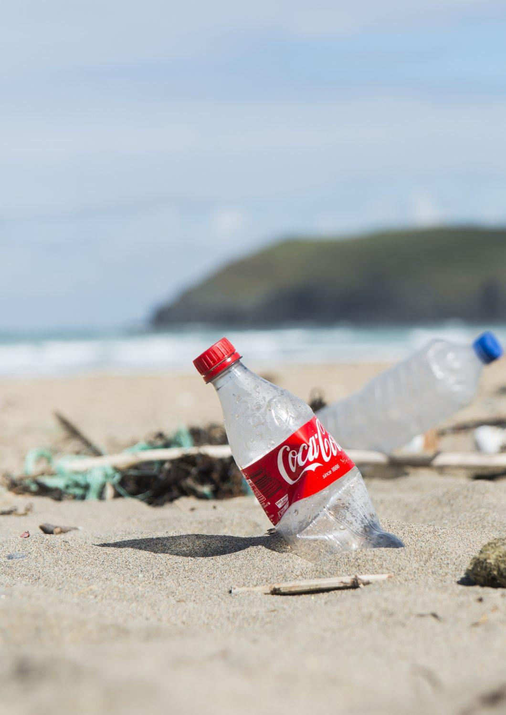 Affald på de danske strande