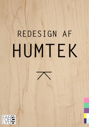 Redesign af HumTeks forhal