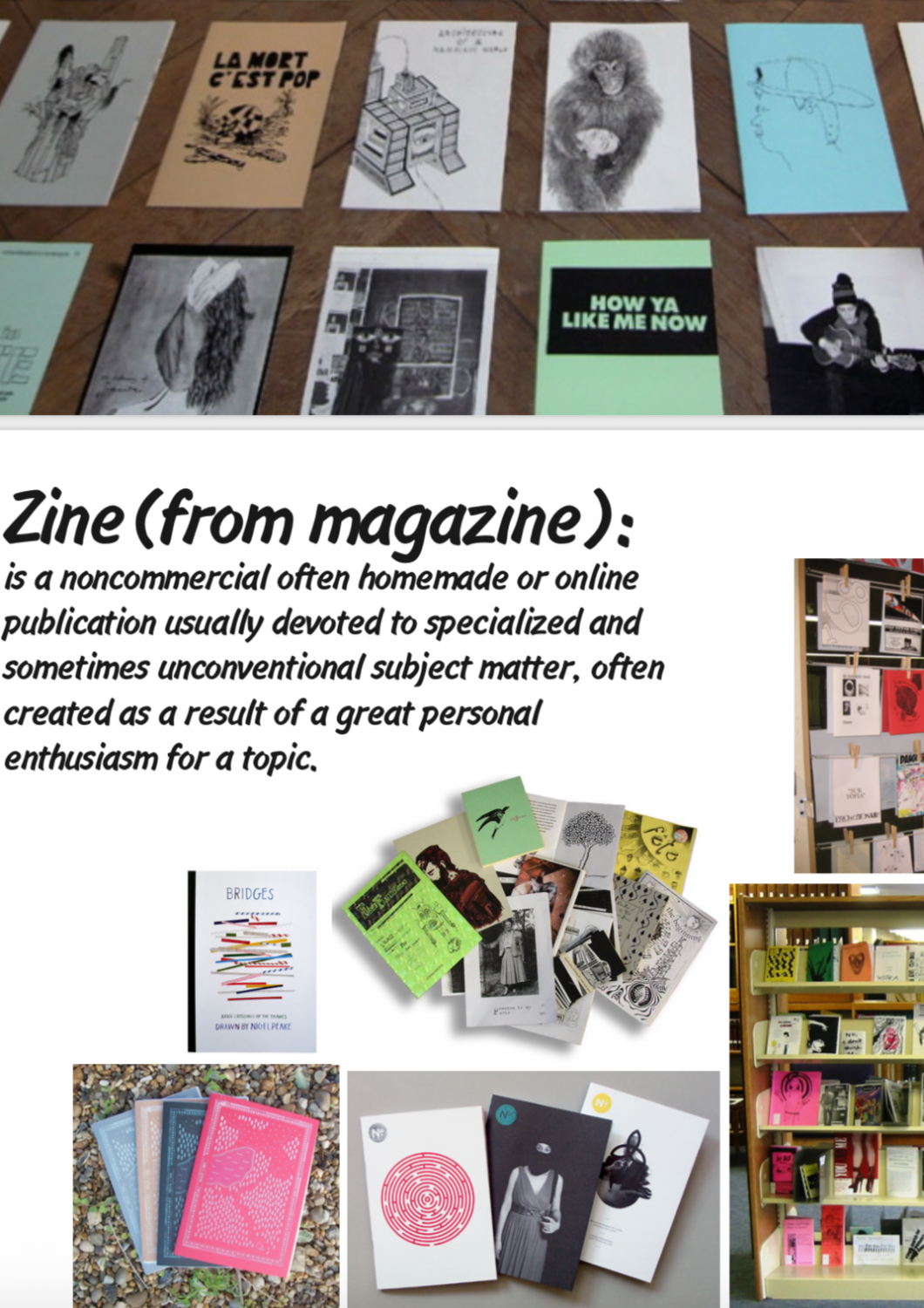 Workshop Zines