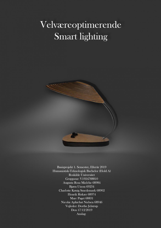 Velværeoptimerende Smart Lighting