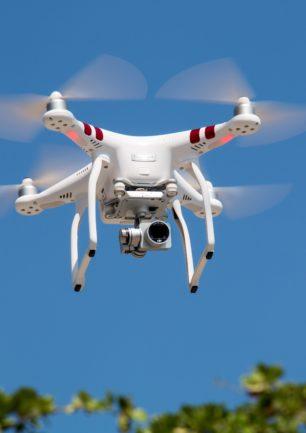 Velfærdsteknologi – droner