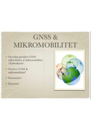 GNSS & mikromobilitet