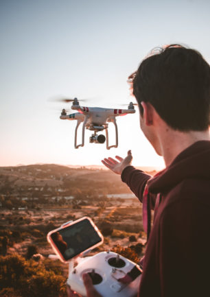 Forskellige typer af drone styring