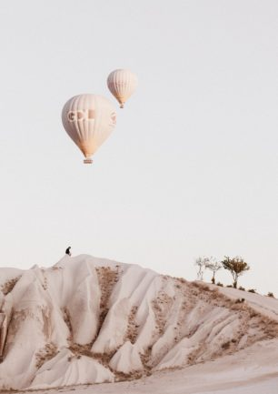 Luftballon som lampe.