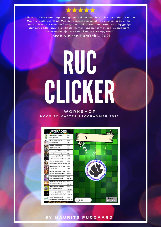 RUC CLICKER – workshop 4 projekt