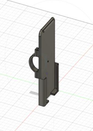 3D printet telefon holder