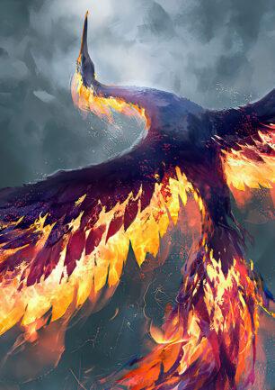 Nyancat rises like a Phoenix