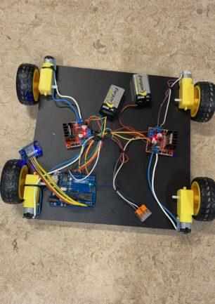 Arduino bilprojekt – workshop 2021