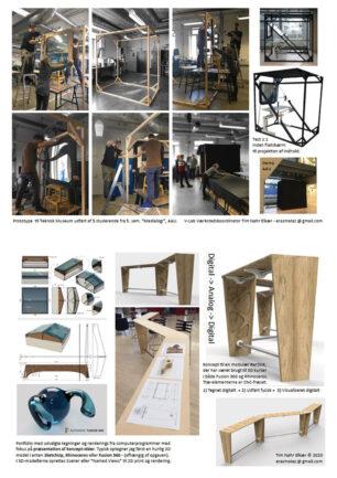 Tim's Workshop PortFolio – AAU + KADK